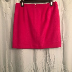The Limited Skirts - Wool Magenta Mini Skirt